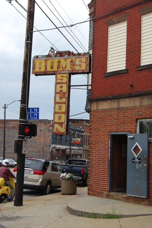 Bum's Saloon Cleveland, OH.© Vincenzo AIosa